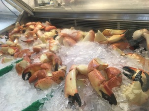 Stone Crabs at Garcia's Seafood Grille
